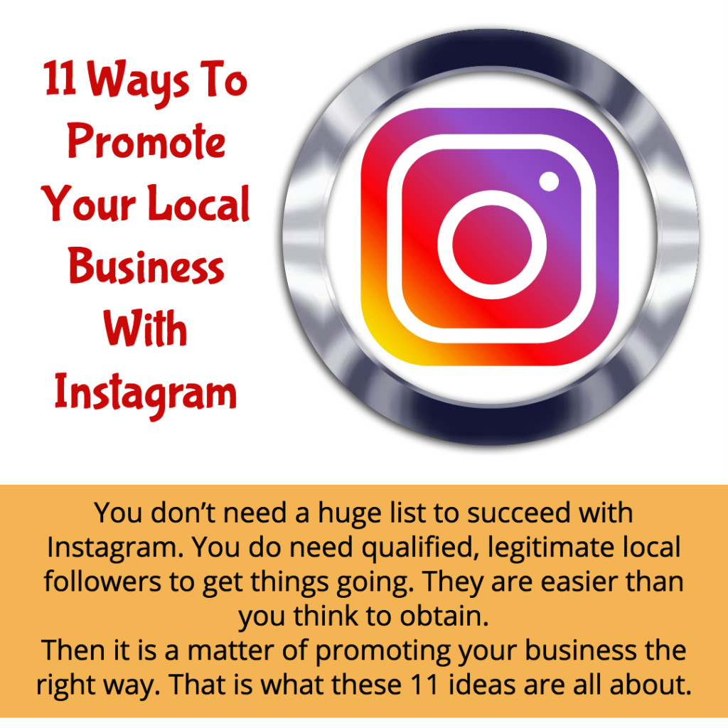 11 Ways to Promote a Local Business on Instagram - BP Media